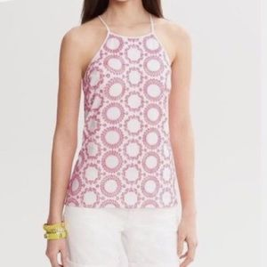 Banana Republic Milly Collection Eyelet Top